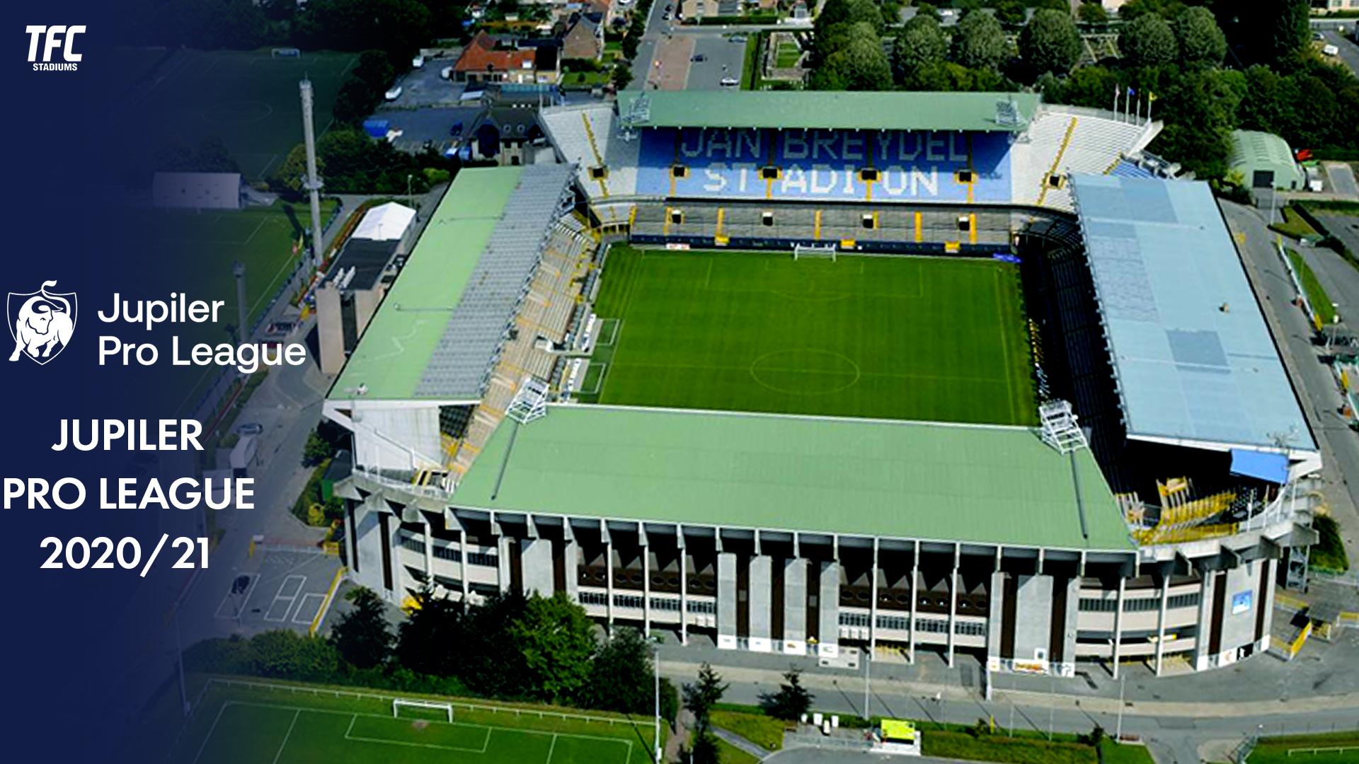 Jupiler Pro League 2020 21 Stadiums Tfc Stadiums