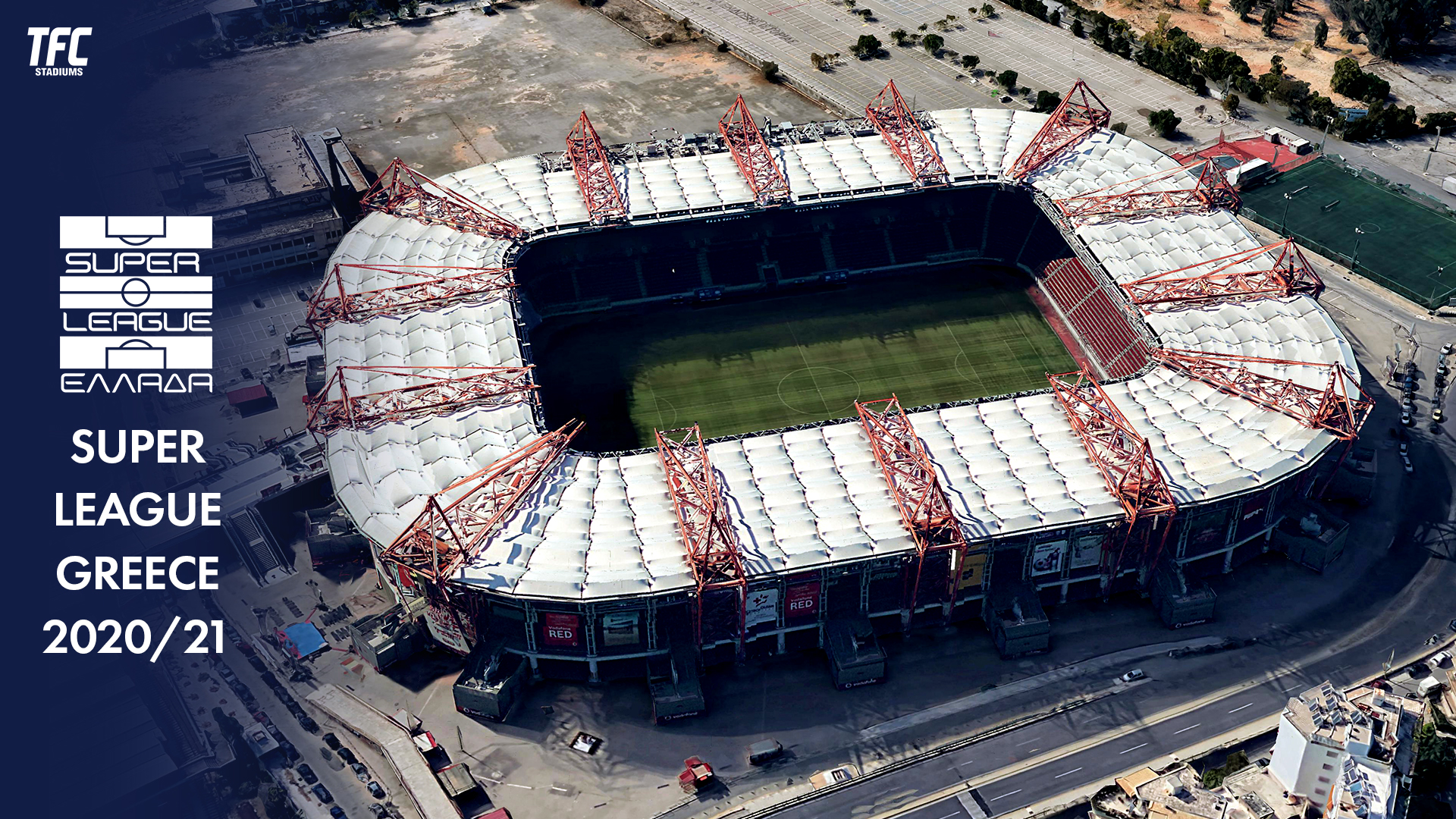 Super League Greece 2020/21 Stadiums - TFC Stadiums